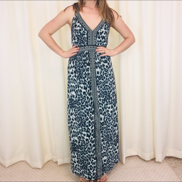 670aa0418a6b6 INC International Concepts Dresses & Skirts - INC Leopard Print Maxi Dress  Strappy Summer Sz XL